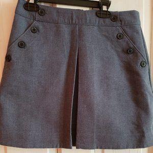 Gap Chambray Mini Skirt, Size 4